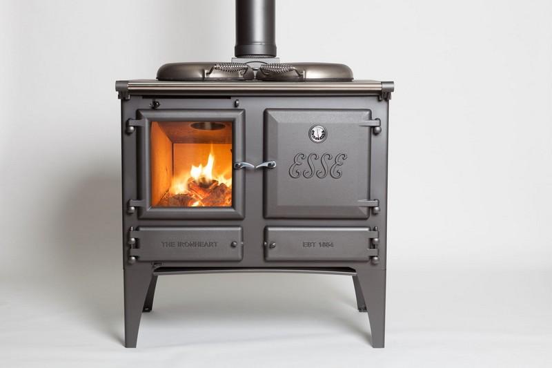 Ironheart fatüzelésű kézműves tűzhely