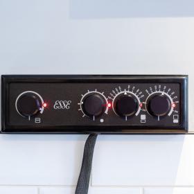 990 Hybrid elektromos és fatüzelésű öntvény tűzhely
